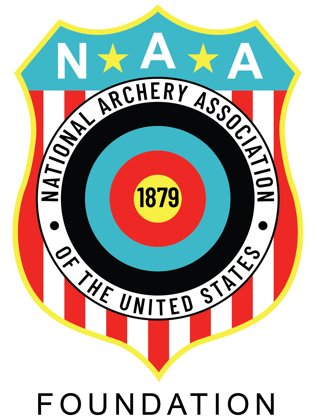 National Archery Association Foundations logo